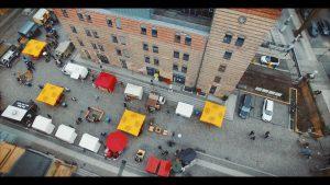 Street Food auf Achse von Oben, Kulturbrauerei Berlin - Titelbild